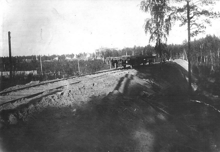 Сдана ветка от станции Оверята. Ранее на лошадях и себе 1933_новый размер