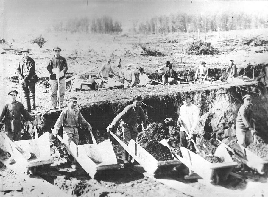 котлованы копали лопатами 1930_новый размер