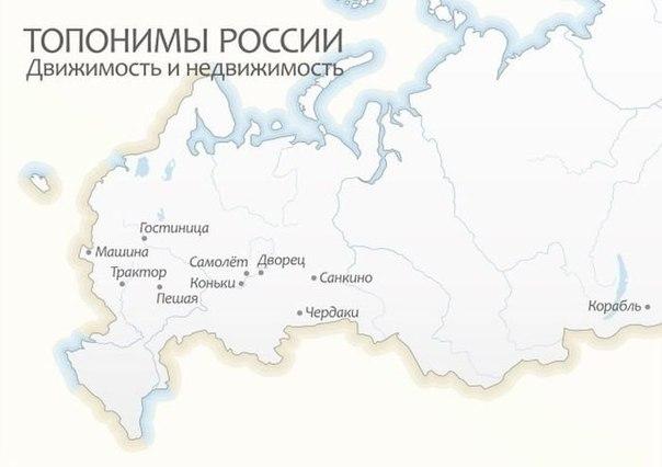Тематические подборки реальных названий городов России