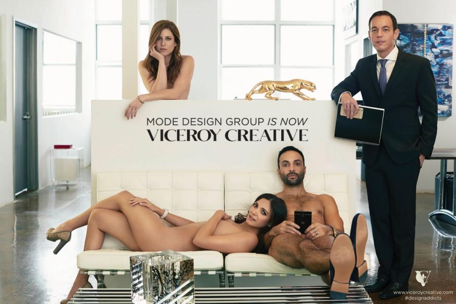 Откровенная фотосессия руководителей Viceroy Creative...