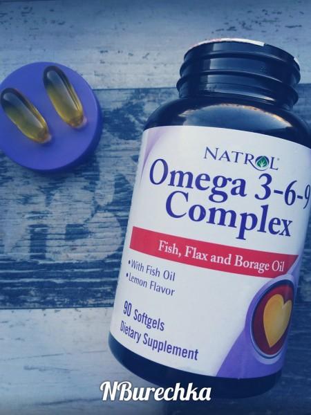 Natrol, Комплекс омега 3-6-9, со вкусом лимона, 90 жевательных ...