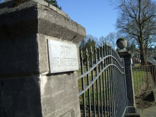 South gate on Mill Plain Blvd