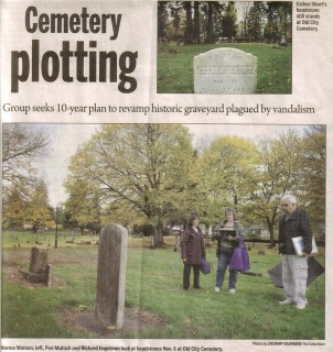 10 year plan to revamp history at cemetery