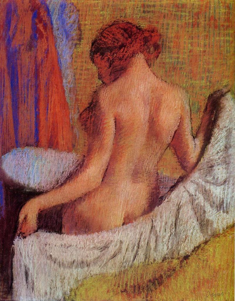 Эдгар Дега - После ванны 3 - 1895.jpg