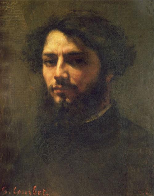 Гюстав Курбе - автопортрет - 1850.jpg