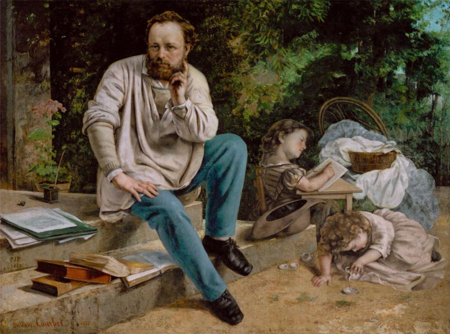 Прудон и его дети.jpg
