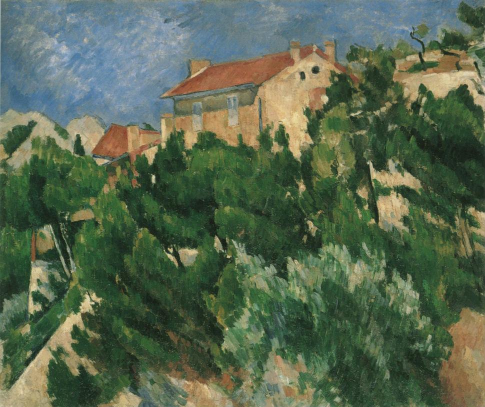 27-Пейзаж в Провансе - Поль Сезанн 1882.jpg