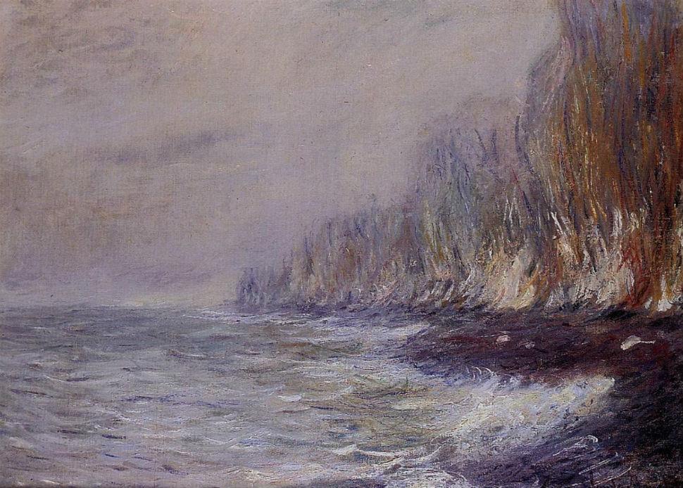 34-Эффект тумана в окрестностях Дьеппа - Клод Моне 1882.jpg