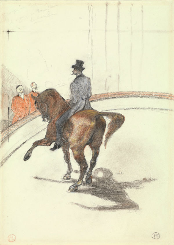35-В цирке. Испанская прогулка - Анри де Тулуз-Лотрек 1899.jpg