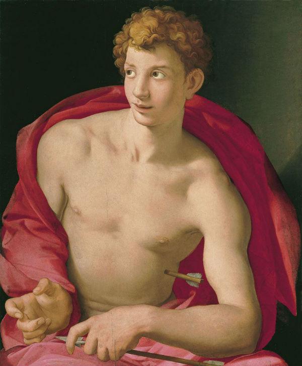 8-Аньоло Бронзино - Святой Себастьян - 1533.jpg