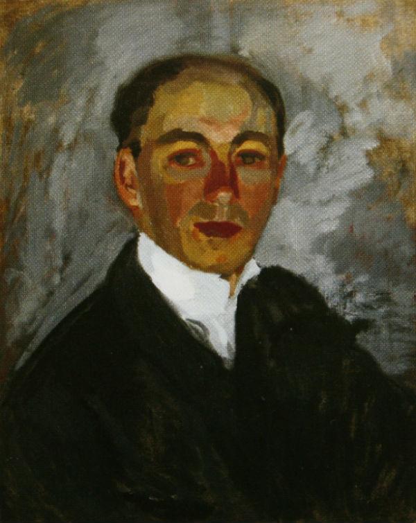 1-Михаил Фёдорович Шемякин - Автопортрет- 1905.jpg