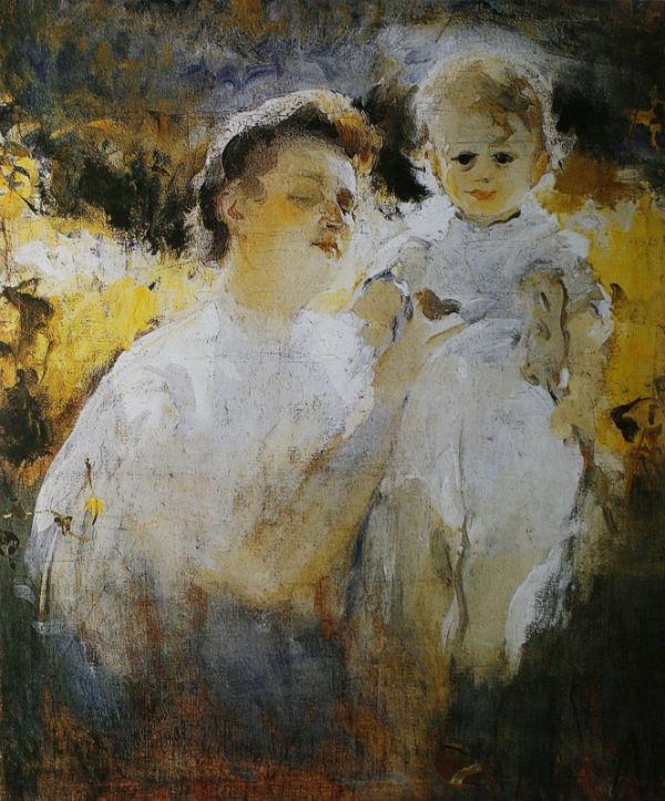 5-Михаил Фёдорович Шемякин - Мать и дитя на солнце - 1907.jpg