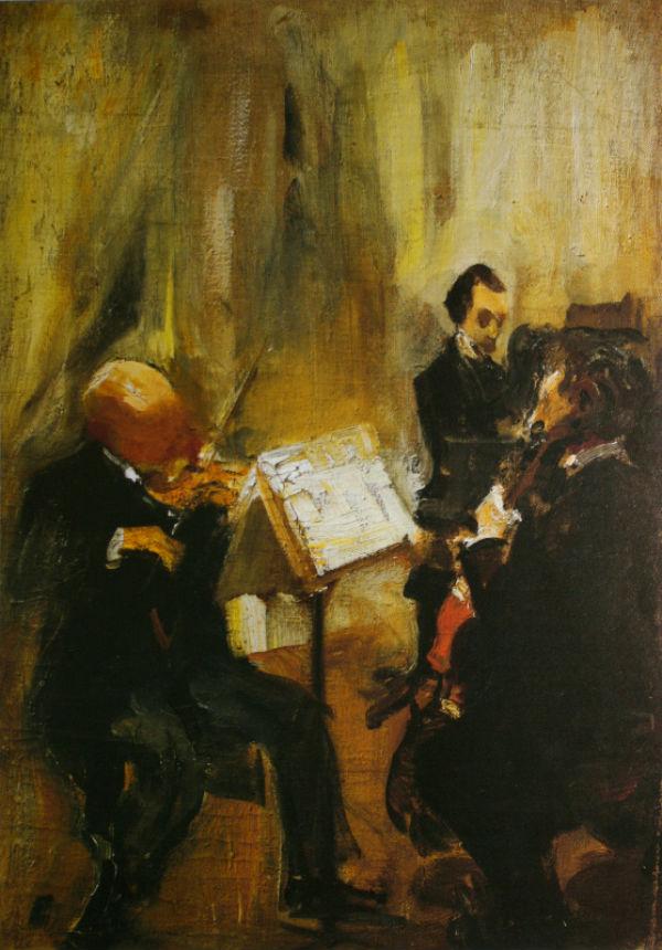 9-Михаил Фёдорович Шемякин - Трио - 1911.jpg