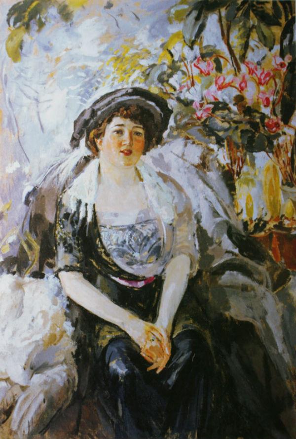11-Михаил Фёдорович Шемякин - Портрет Дукмасовой - 1914.jpg