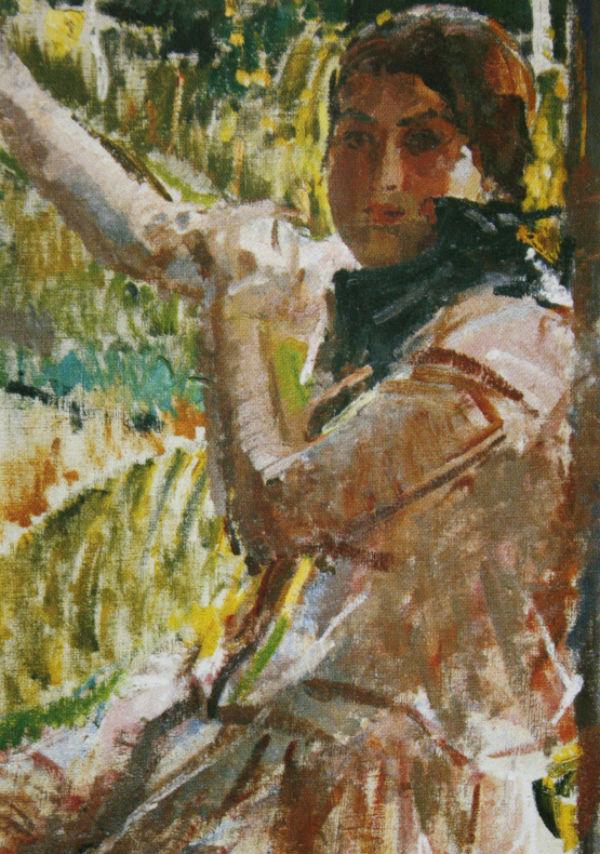 15-Михаил Фёдорович Шемякин - Девушка в розовом платье - 1929.jpg