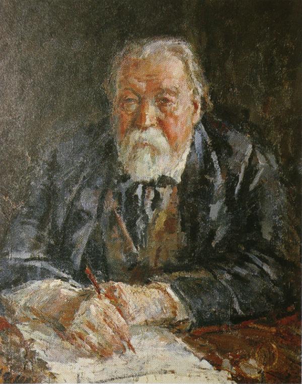 16-Михаил Фёдорович Шемякин - Композитор М М Ипполитов-Иванов - 1934.jpg