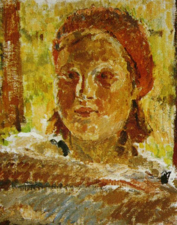 20-Михаил Фёдорович Шемякин - Портрет Кати - 1936.jpg