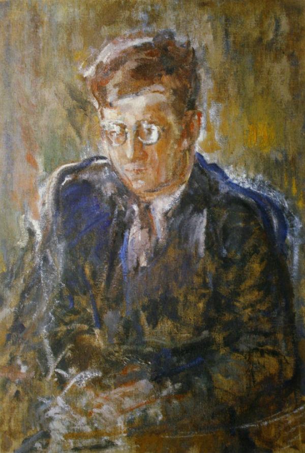 23-Михаил Фёдорович Шемякин - Портрет композитора Д Д Шостаковича - 1943.jpg