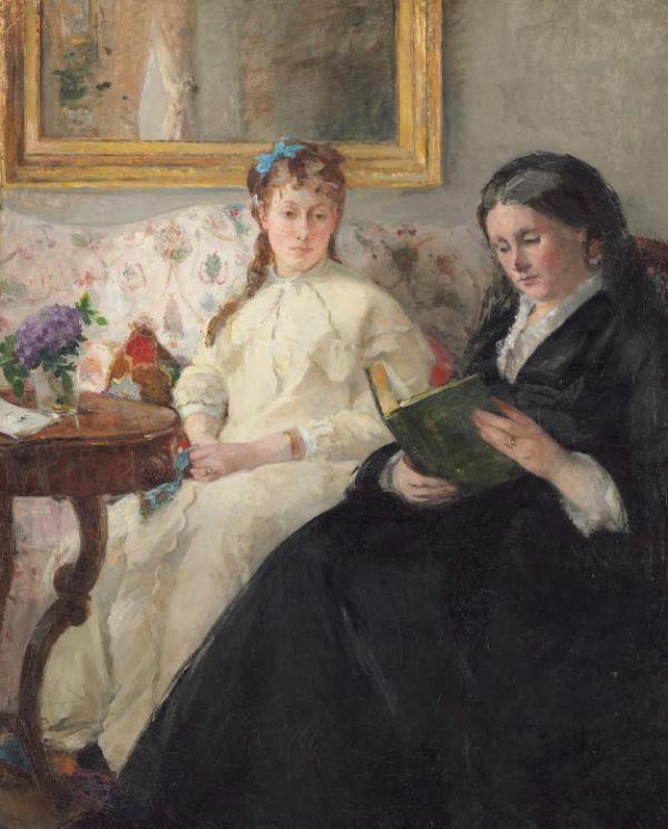 2-Портрет матери и сестры - 1869.jpg
