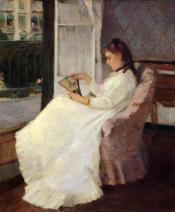 3-Сестра художницы у окна - 1869.jpg