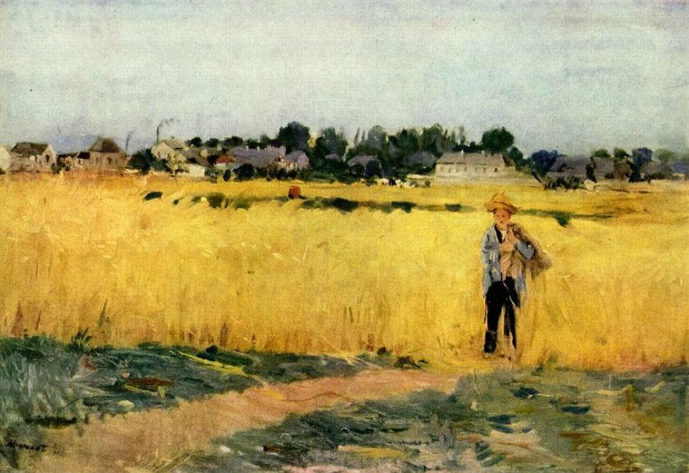 9-В пшеничных полях близ Женвийер - 1875.jpg