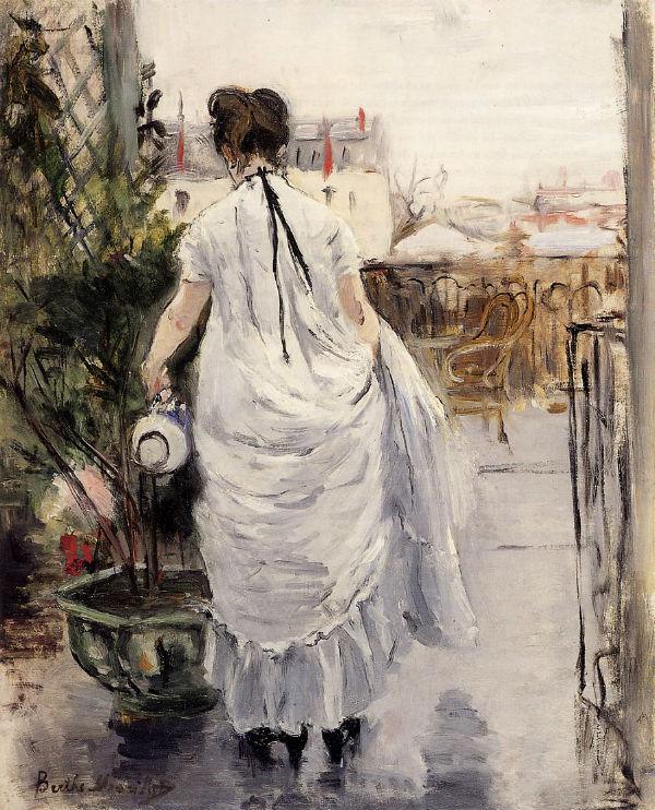 18-Женщина поливает куст - 1883.jpg