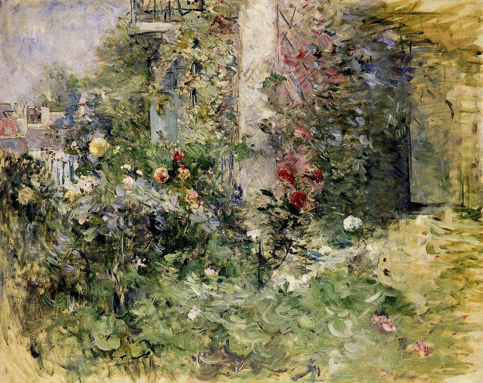 21-Сад в Буживиль - 1884.jpg