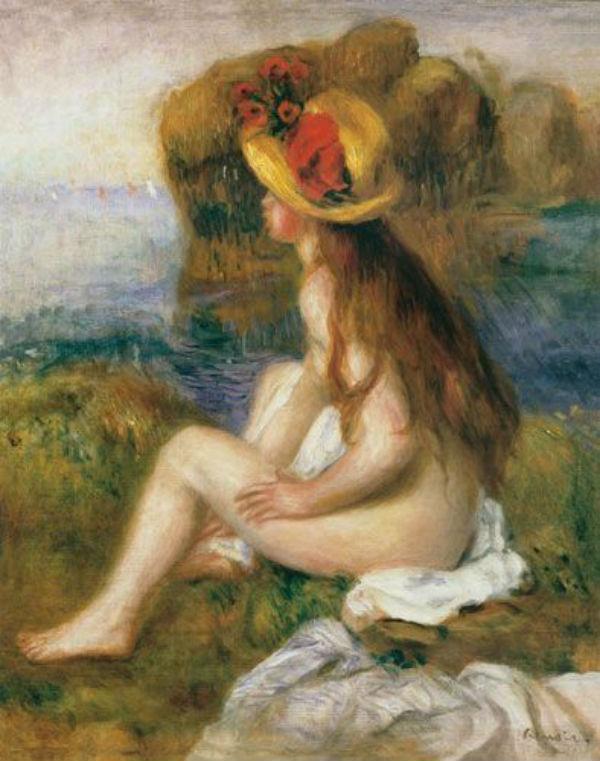 Купальщица в соломенной шляпе - 1892.jpg