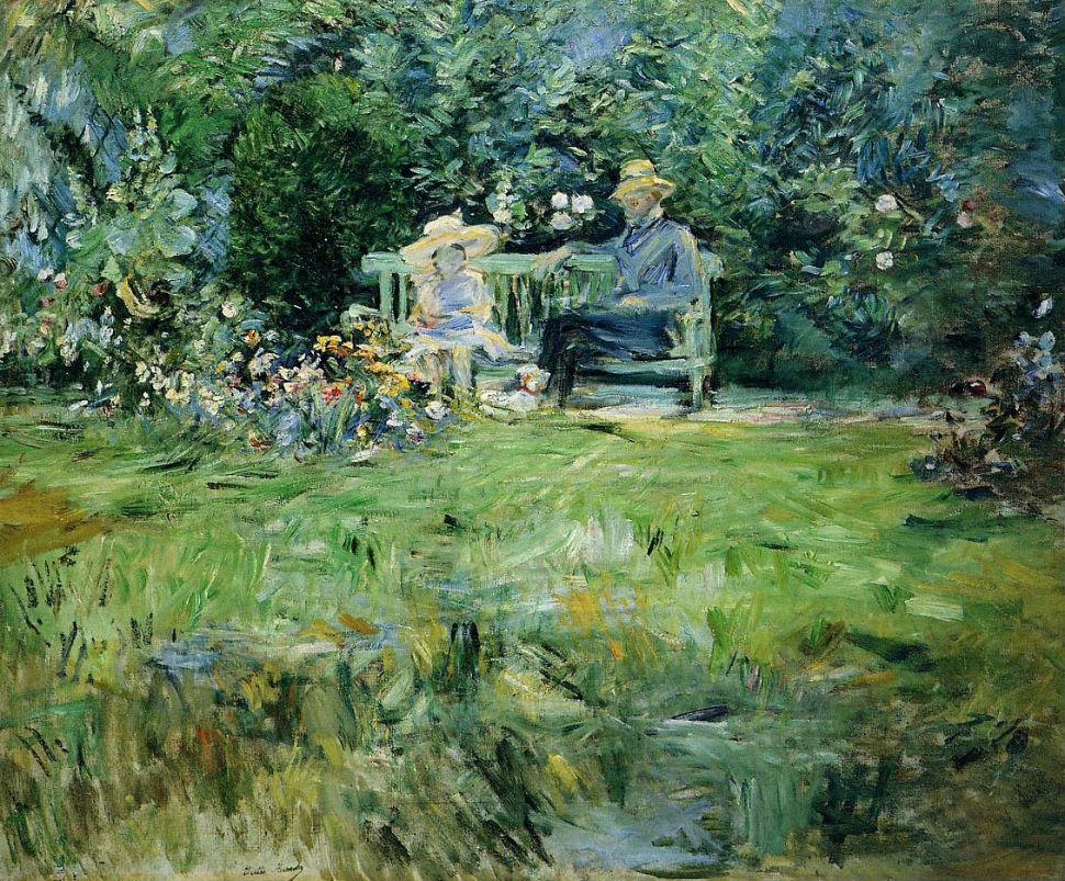 28-Урок в саду - 1886.jpg