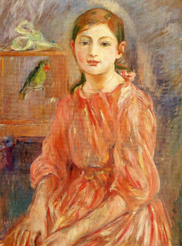 31-Дочь художницы с попугаем - 1890.jpg