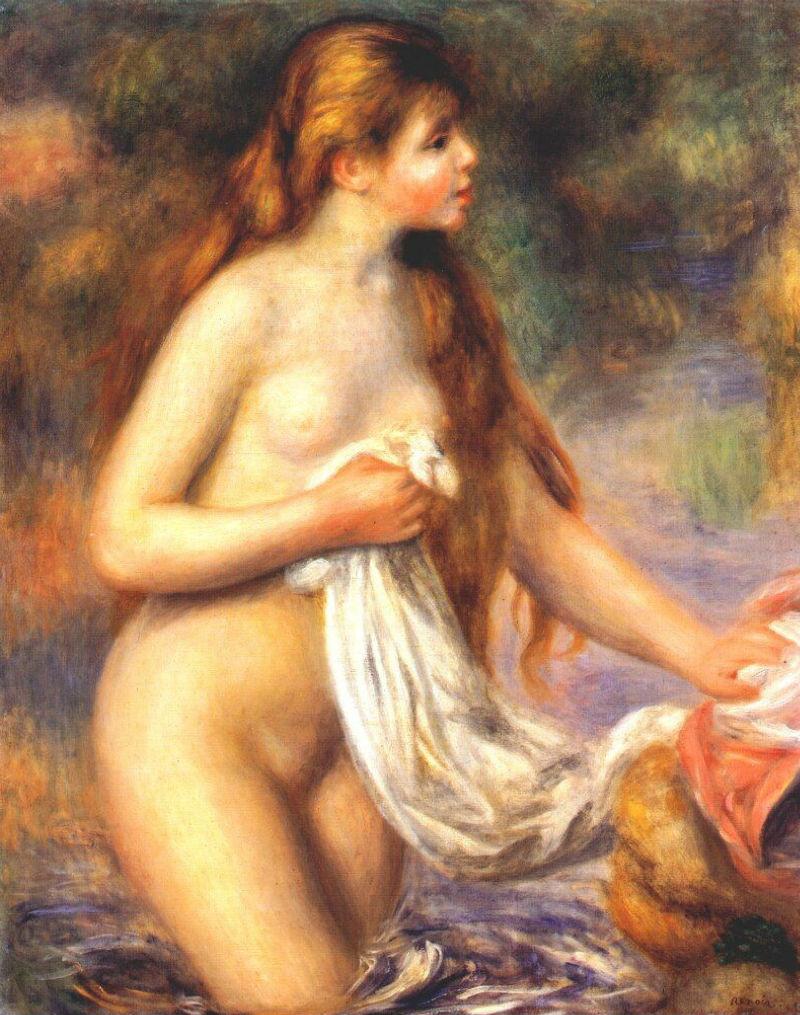 Купальщица с длинными волосами - 1895.jpg