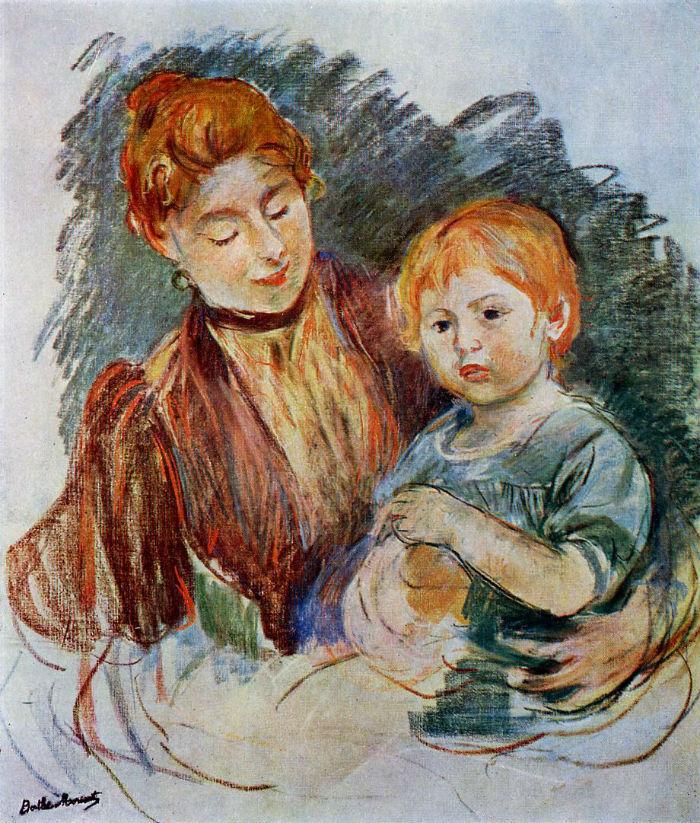 36-Женщина с ребёнком - 1894.jpg