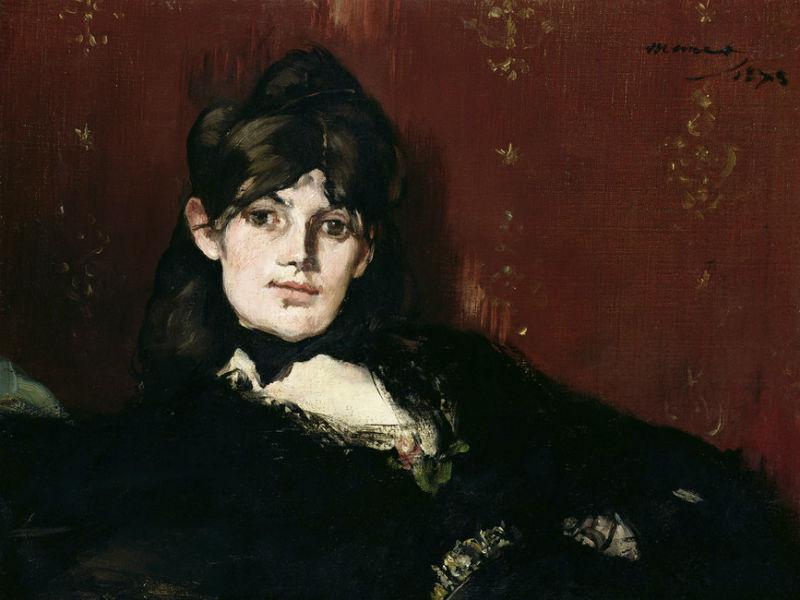 7-Эдуард Мане - Портрет Берты Моризо - 1873.jpg