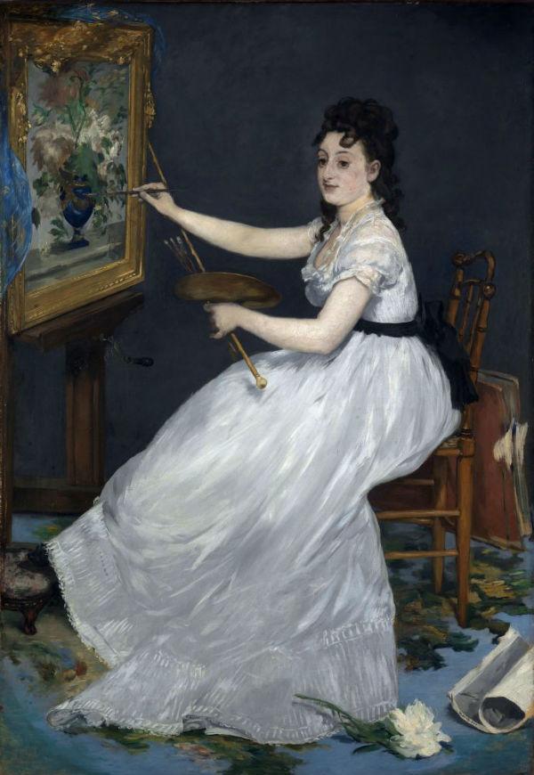 8-Эдуард Мане - Портрет Евы Гонсалес - 1870.jpg
