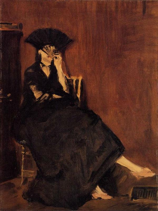 10-Эдуард Мане - Берта Моризо с веером - 1872.jpg