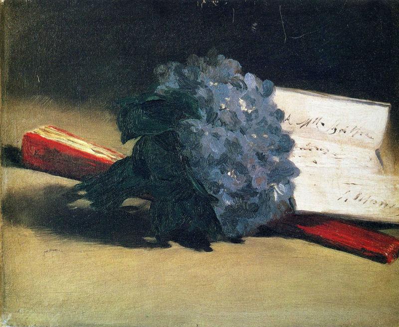11-Эдуард Мане - Букет фиалок - 1872.jpg