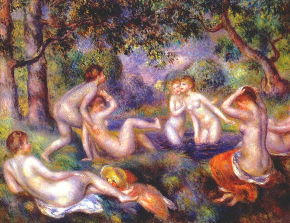 Купальщицы в лесу - 1897.jpg