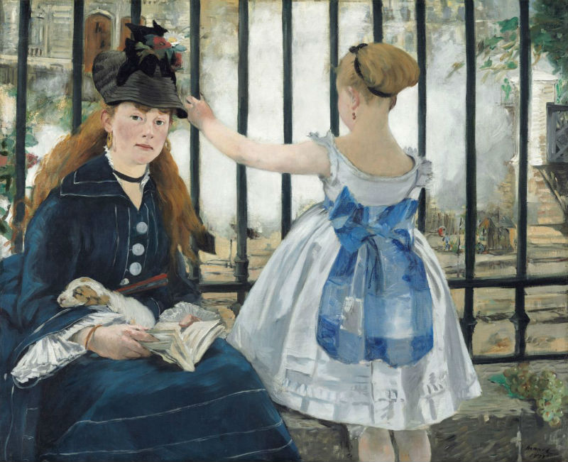 16-Эдуард Мане - Железная дорога - 1873.jpg