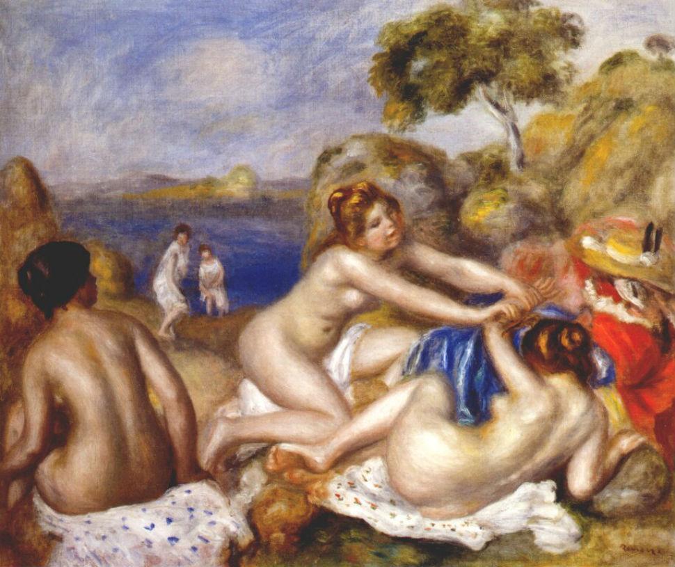 Купальщицы с крабом - 1897.jpg