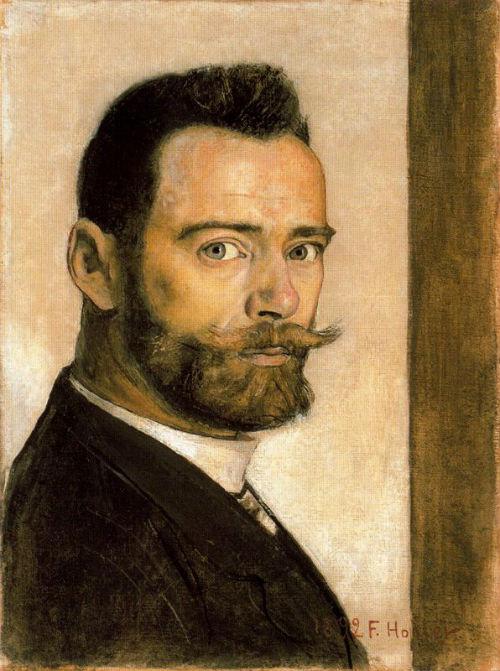 Фердинанд Ходлер - Автопортрет - 1892.jpg