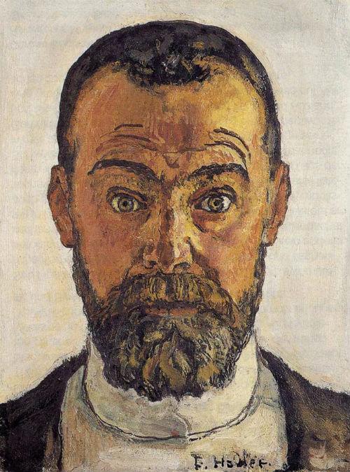 Фердинанд Ходлер - Автопортрет - 1912.jpg