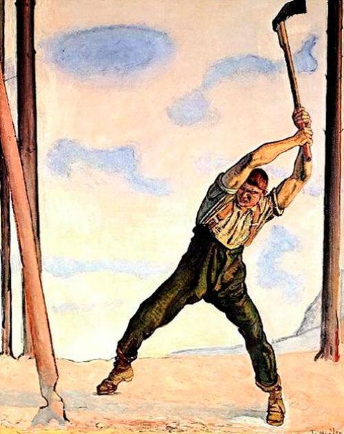 Фердинанд Ходлер - Дровосек.jpg