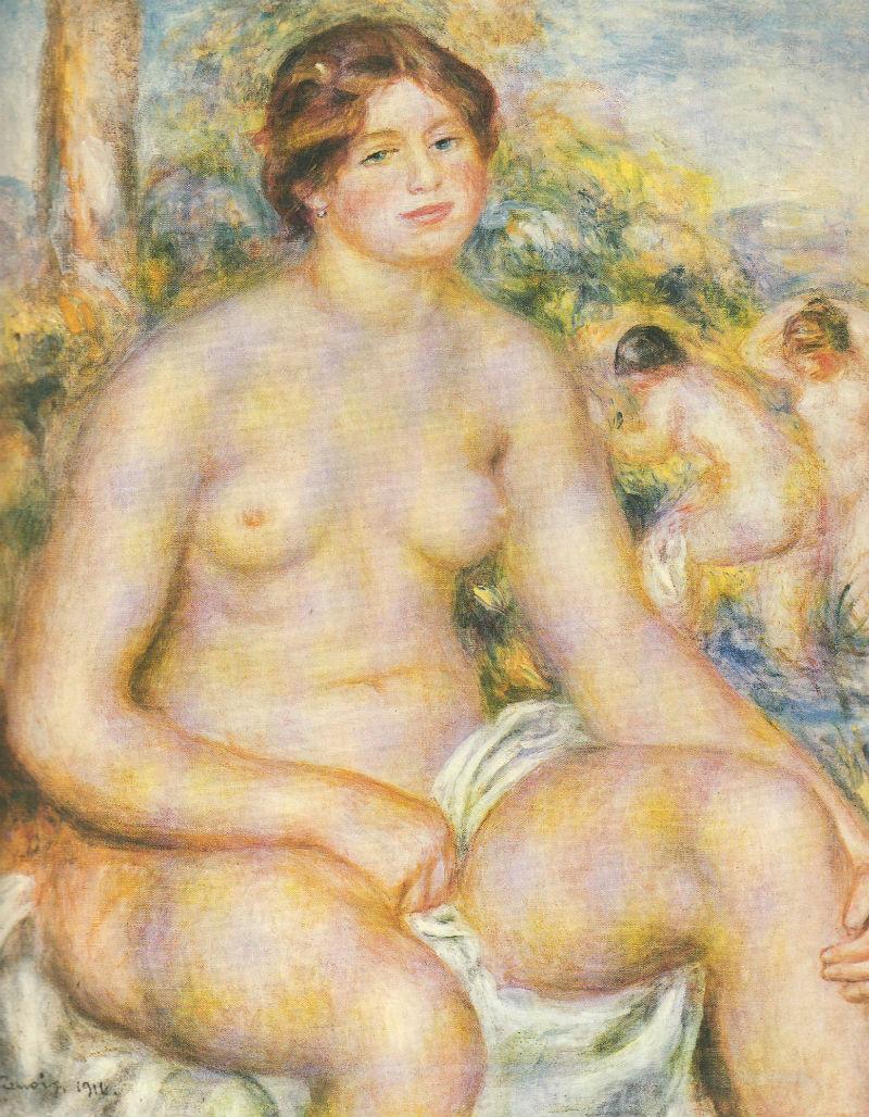 Сидящая купальщица - 1914.jpg
