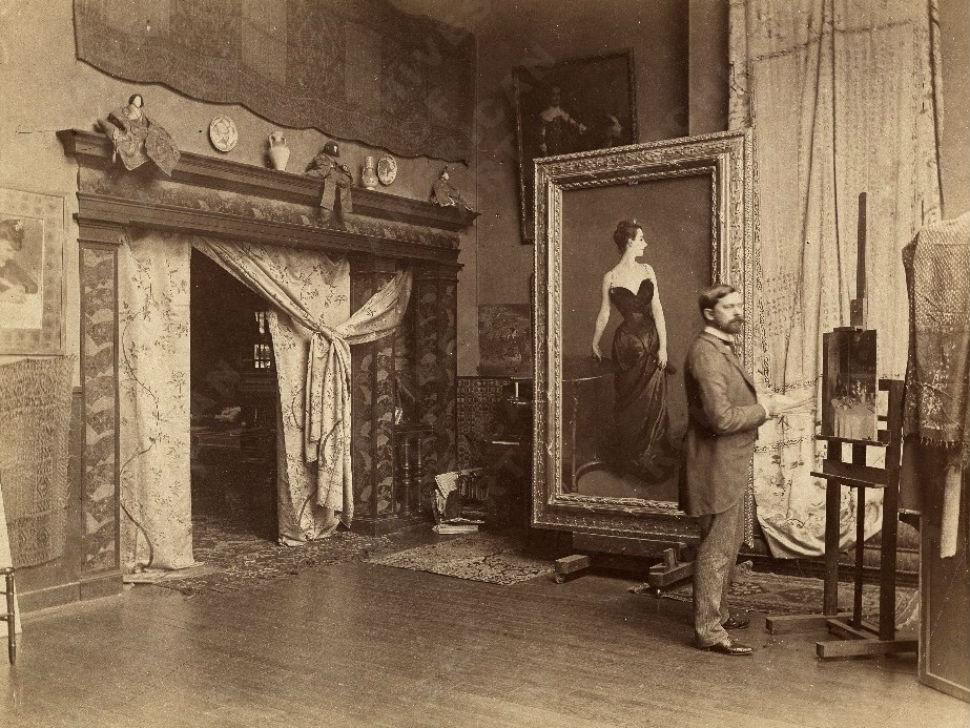 3-2-Джон Сингер Сарджент в своей мастерской - 1885.jpg