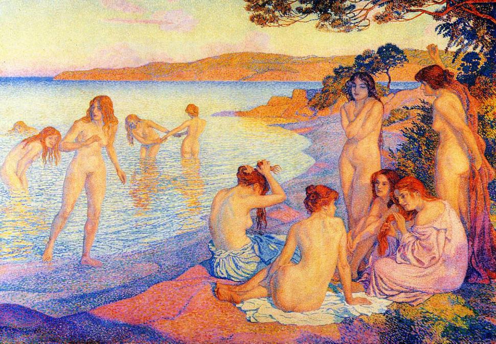 1-Тео ван Рейссельберге - Время для загара - 1897.jpg