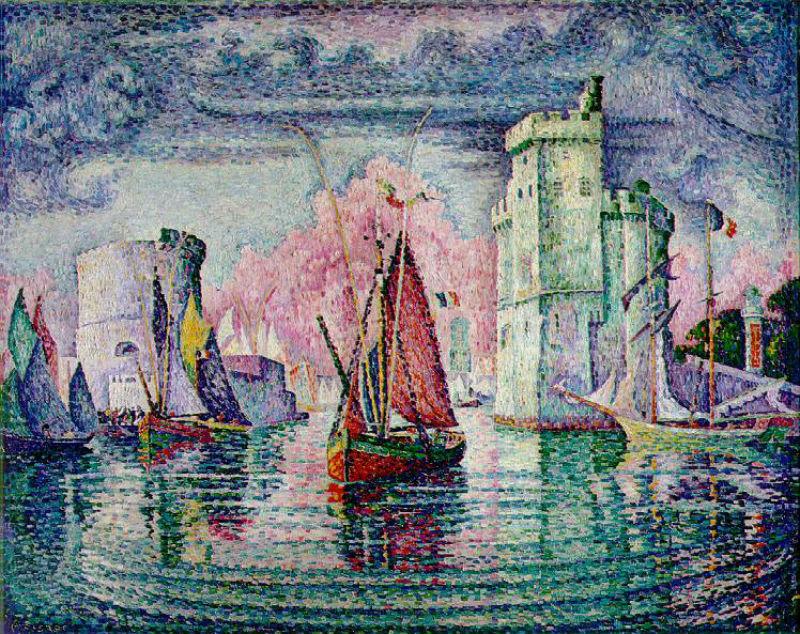 5-Поль Синьяк - Порт Ла-Рошель - 1921.jpg