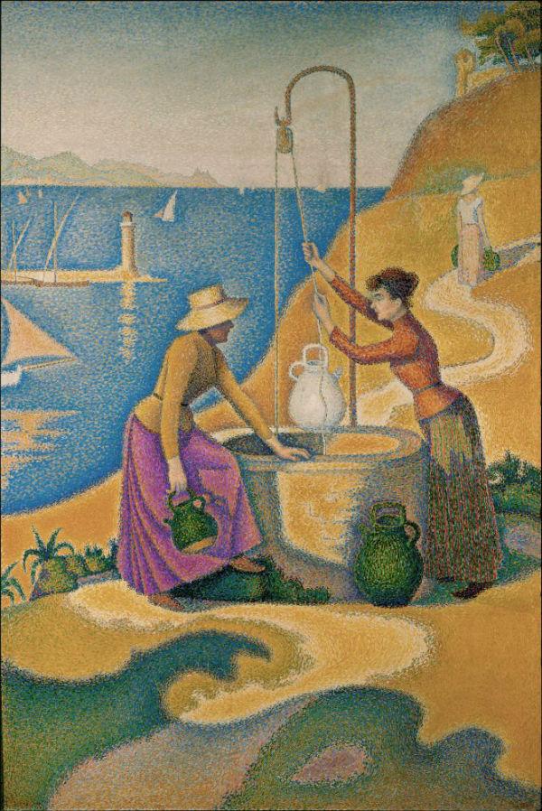 8-Поль Синьяк - Женщины у колодца - 1892.jpg