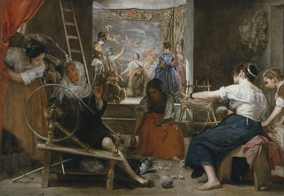 4-1-Диего Веласкес - Пряхи - около 1657.jpg