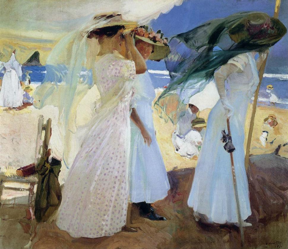 Под навесом Сараус - 1910.jpg
