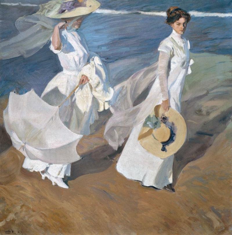 Прогулка по берегу моря - 1909.jpg